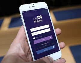 nº 27 pour Design an App Mockup par sudpixel