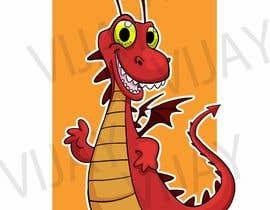 nº 1 pour Mascot logo needed! Friendly Dragon par vijayrai1989