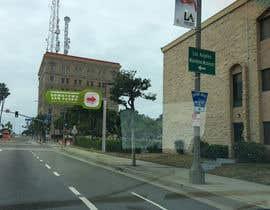 nº 16 pour Photoshop a public city sign that goes over the street par TheoUe