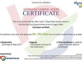 nº 17 pour Design a certificate par leiidiipabon24