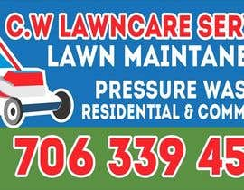 nº 31 pour Design a Banner for A Lawncare Company par imagencreativajp
