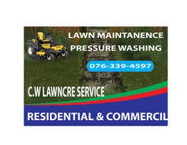 nº 27 pour Design a Banner for A Lawncare Company par mohidulgd