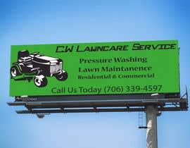 nº 7 pour Design a Banner for A Lawncare Company par GdesignerMIM