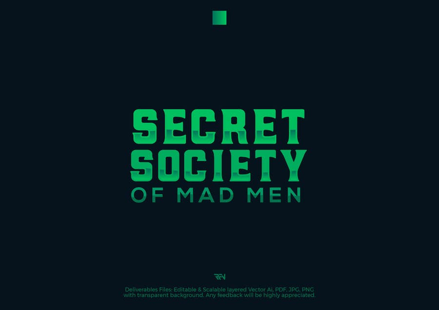 Proposition n°3 du concours Logo for the society of mad men