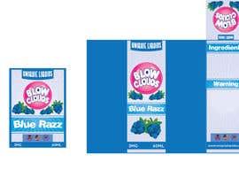 nº 26 pour Create a hip label for a E-Liquid including Logo based on a fruit candy lollipop. par lounzep