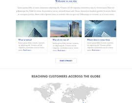nº 5 pour home page design par Poornah