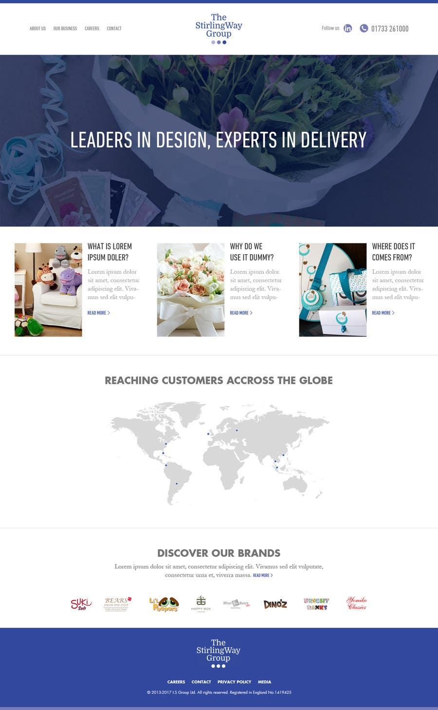 Proposition n°10 du concours home page design