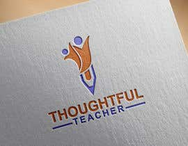nº 97 pour Thoughtful Teacher Logo par nazish123123123