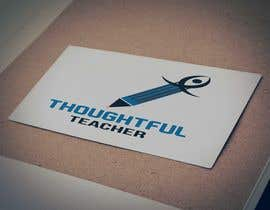 nº 93 pour Thoughtful Teacher Logo par hafij67