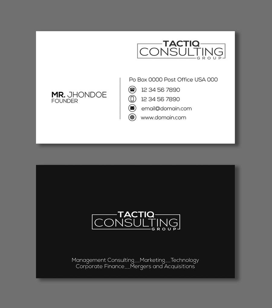 Entry #37 by victorartist for Design a professional looking Business ...