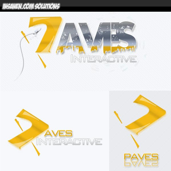 #65 for Logo Design for Paves Interactive by insanenight