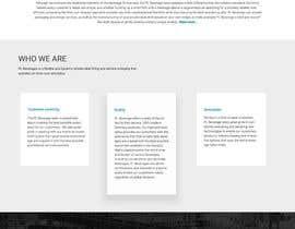 nº 17 pour Creative Website Mockup par webmastersud