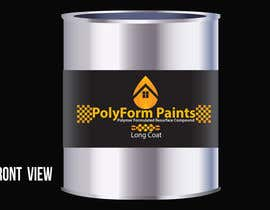 nº 22 pour Paint can label design par TrezaCh2010