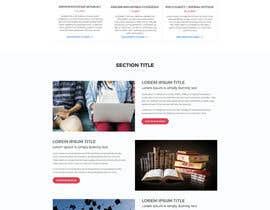 nº 18 pour Design a Website Mockup par aliul