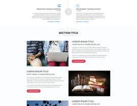 nº 21 pour Design a Website Mockup par aliul