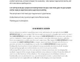 nº 7 pour Write contents for a website par chfahad47