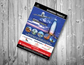 nº 36 pour Flyers for a travel agency par pixelmanager