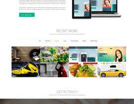 nº 40 pour I would like to hire a Graphic Designer to build a template for a very simple website par Ganeshdas