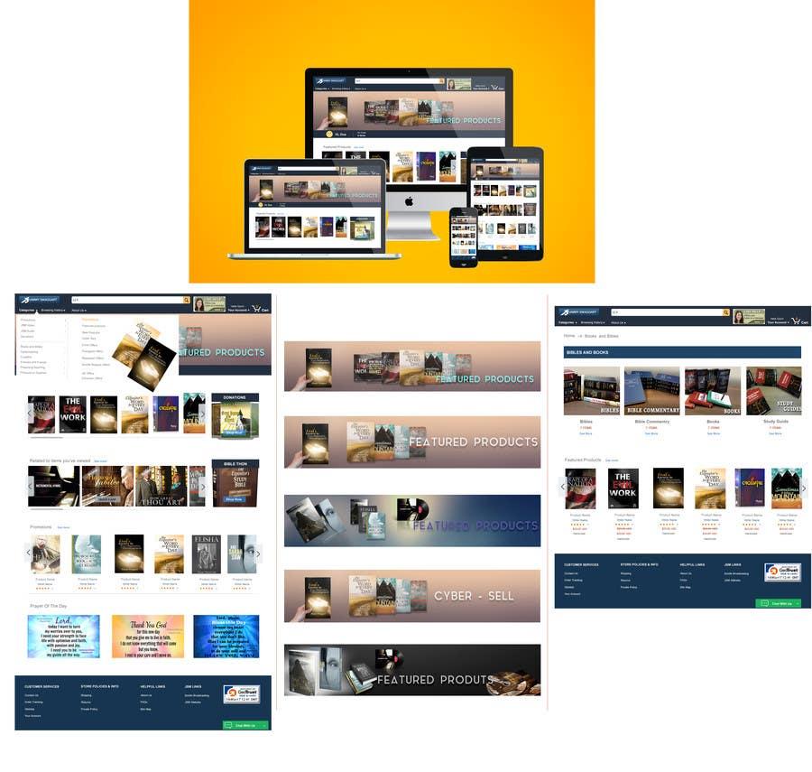 Proposition n°8 du concours Website design