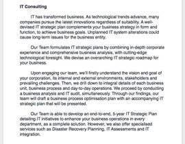 nº 4 pour Consulting Website Content Writing par GraceOng