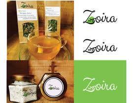nº 203 pour Logo for natural food and cosmetics brand - Zoira par svetlanadesign