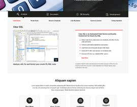 nº 27 pour Polish the draft design of our new corporate website par lancerajee