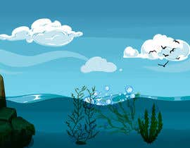 nº 9 pour Quickly need artistic diagram similar to ocean kelp above-below water par jdidiayman