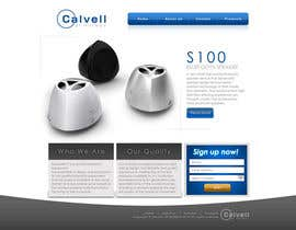 #11 untuk Website Design for Calvell.com oleh dendrenal
