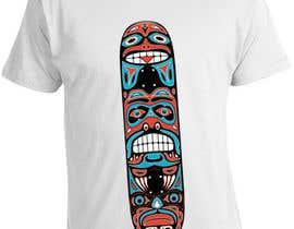 nº 9 pour Skate Related T-shirt design par saurabh295