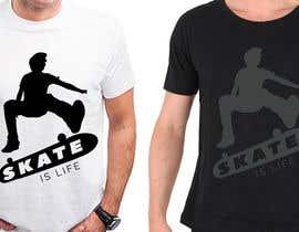 nº 16 pour Skate Related T-shirt design par gerardguangco