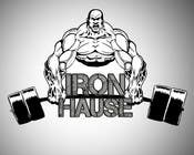 Logo Design for Iron Haus Bodybuilding için Graphic Design82 No.lu Yarışma Girdisi