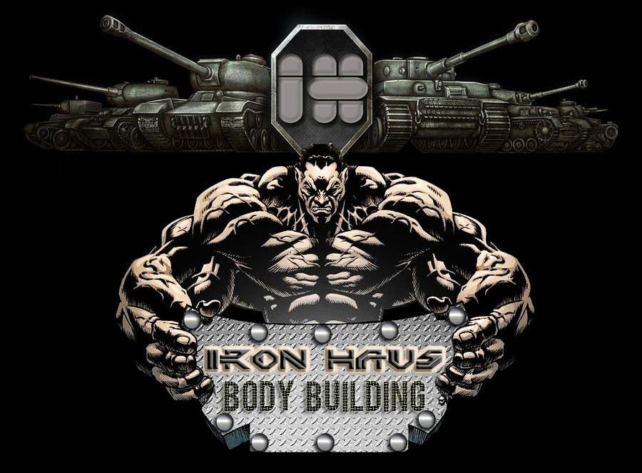 Contest Entry 52 For Logo Design Iron Haus Bodybuilding