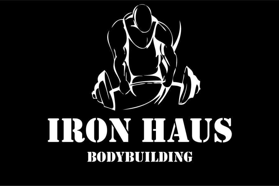 Contest Entry 65 For Logo Design Iron Haus Bodybuilding
