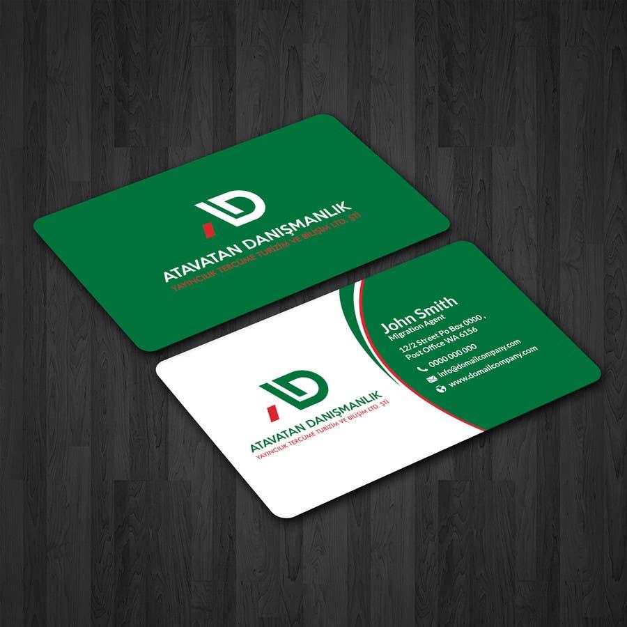 Proposition n°8 du concours Design some Business Cards