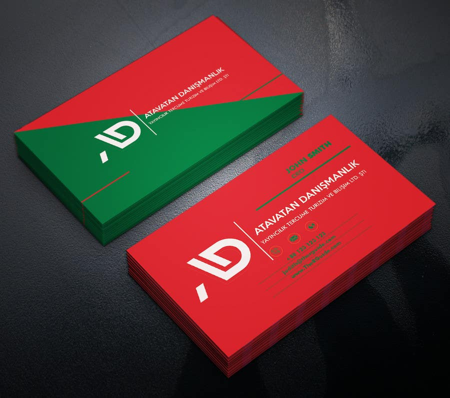 Proposition n°46 du concours Design some Business Cards