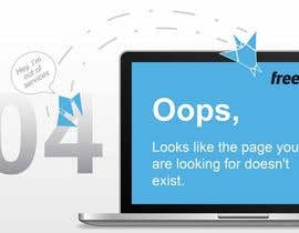 nº 36 pour Design a creative 404 page for Freelancer.com par ferisusanty