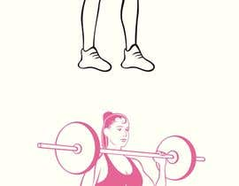 nº 9 pour Female Exercise Illustrations par dulhanindi