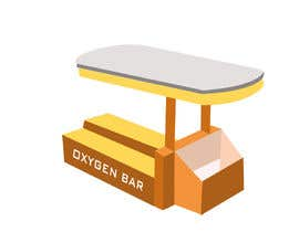nº 43 pour Create an oxygen bar kiosk. par zenlix