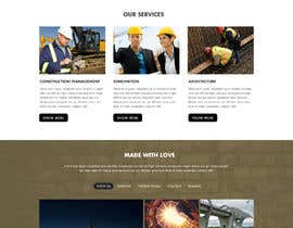 nº 30 pour Website for an Architecture, Engineering and Construction Company par irfannosh