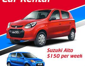 "nº 11 pour Design 2 banners ""Don't get a lost!"" and ""Suzuki Alto $150 per week"" par OrHPositivo"