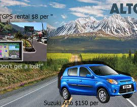 "nº 14 pour Design 2 banners ""Don't get a lost!"" and ""Suzuki Alto $150 per week"" par SHUBONGKAR"