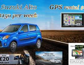 """nº 19 pour Design 2 banners """"Don't get a lost!"""" and """"Suzuki Alto $150 per week"""" par gokulfreelancher"""