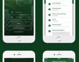 nº 9 pour iOS app mockup par lition1981