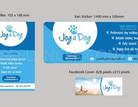 nº 13 pour Branding for a dog walking company! par vinunair76