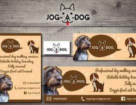 nº 22 pour Branding for a dog walking company! par Kitteehdesign