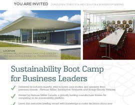 #32 para Business Sustainability Boot Camp - 1 page digital flyer por mycreativestorm