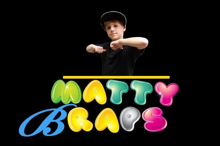 Конкурсная заявка №80 для Cool T-shirt Design for MattyBRaps