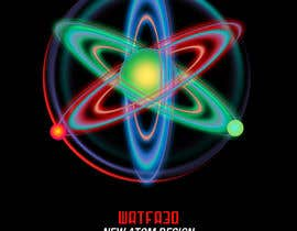 nº 30 pour Design an image of an atom and electrons par Watfa3D