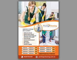 nº 62 pour Design an a5 flyer for a cleaning business par uniquegraphix