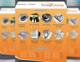 nº 45 pour Design an a5 flyer for a cleaning business par haquen